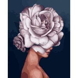 Девушка-роза